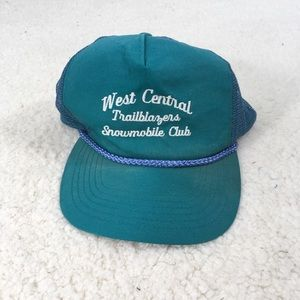 Vintage Snowmobile Trucker Hat